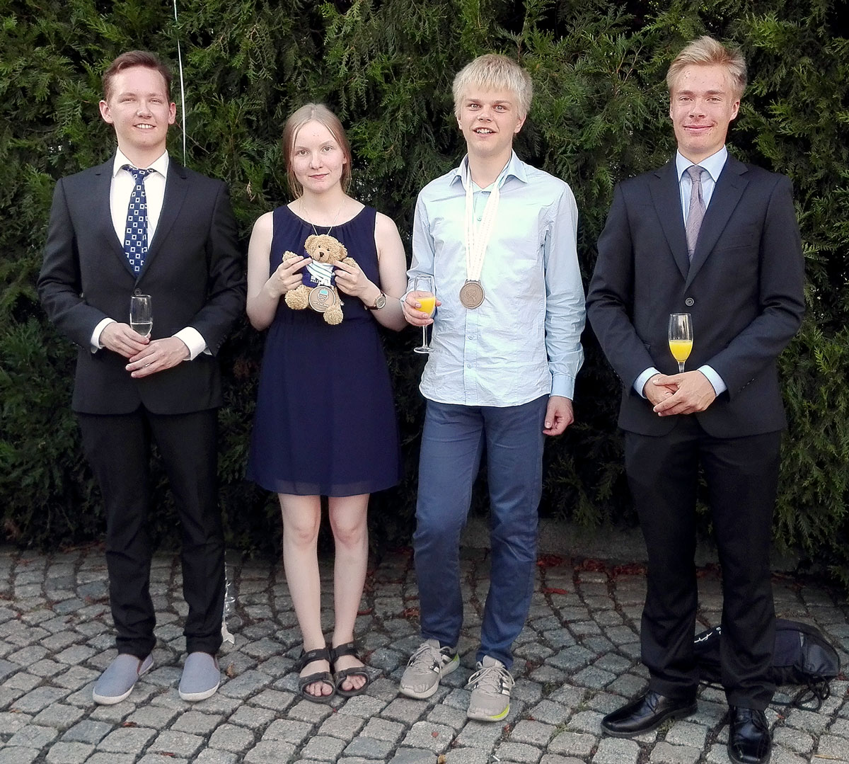 50. kemiaolympialaiset: Suomelle kaksi pronssia!