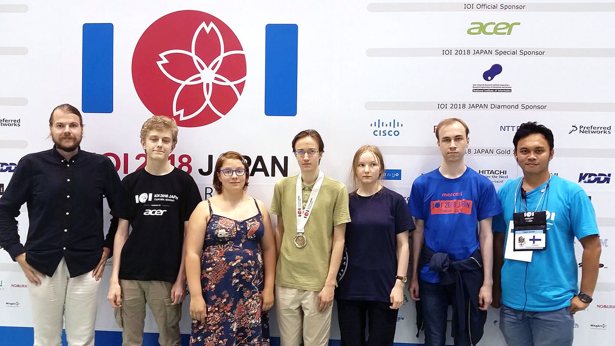 30. tietotekniikkaolympialaiset: Teemana tervetulleeksi toivottaminen