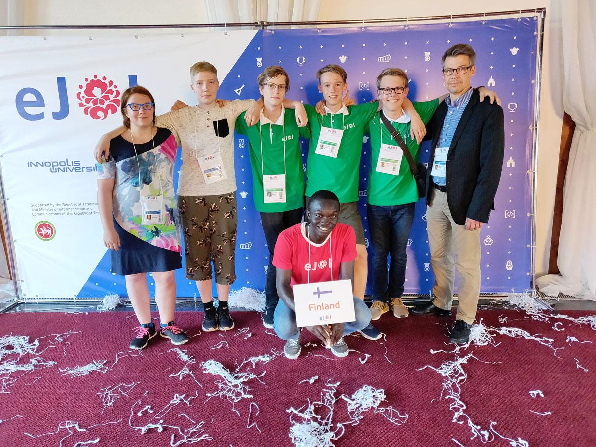2. tietotekniikan junioriolympialaiset: Venäjä tarjosi hulppeat puitteet