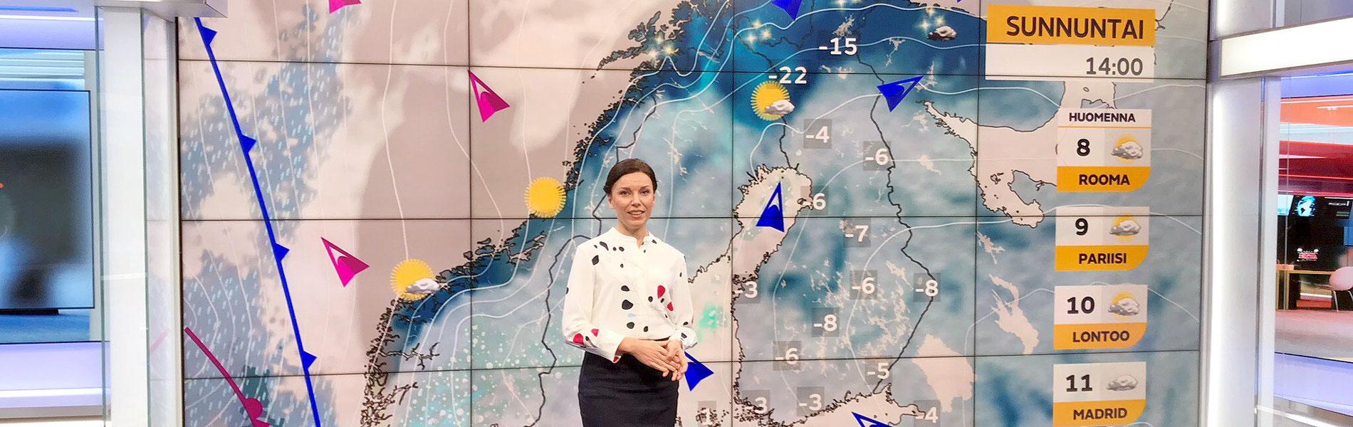 """Meteorologi Liisa Rintaniemi: """"Luonnontieteistä on tärkeä puhua niin, että kaikki voivat ymmärtää"""""""