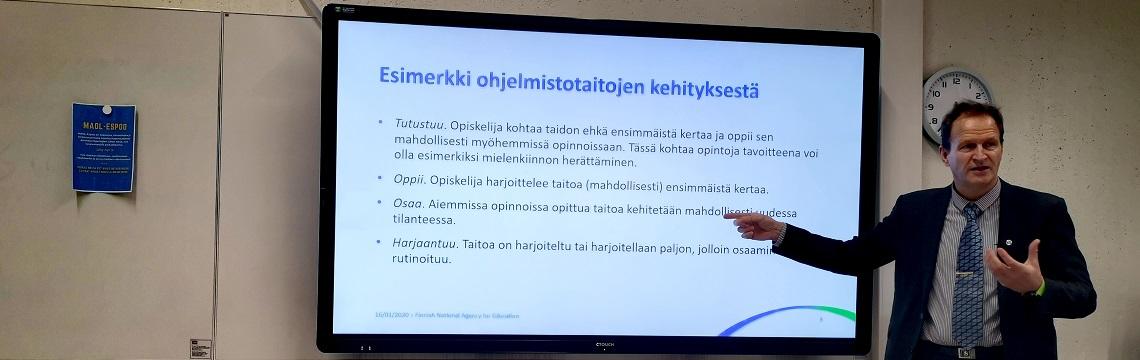 Pedagoginen kahvila Espoossa 16.1.2020