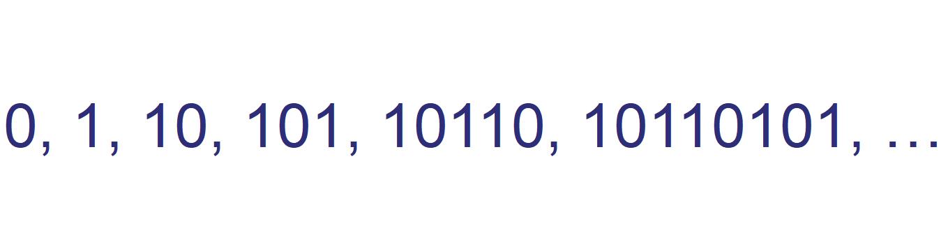 Fibonaccin sanoja