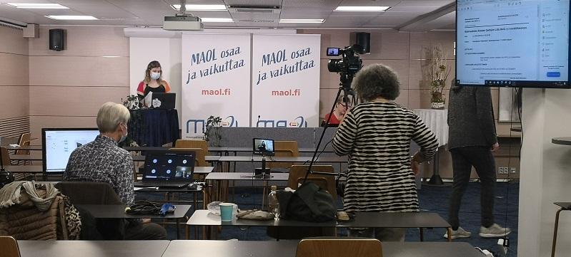 MAOL ry liittokokoukset 21.11.2020