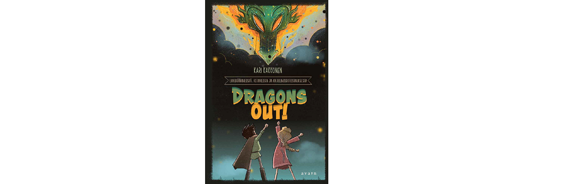 Dragons Out - lohikäärmesatuja nuorille