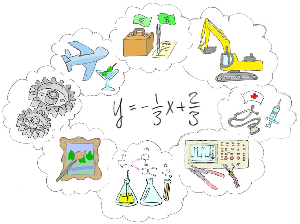 Matematiikkaa tarvitaan kaikilla aloilla – nykyinen mielleyhtymä turhan teknologiapainotteinen